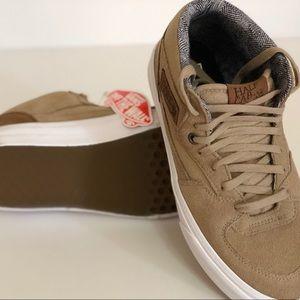 f9772515a9 Vans Shoes - Vans Half Cab C L Silver Mink True White Sneakers